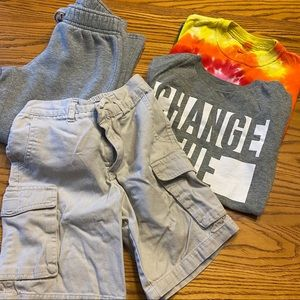 4 Piece Mixed LOT of Boys' Clothes Small 5 / 6